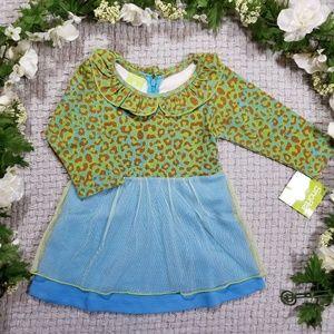 a39840788 SnoPea Dresses | Clearance Greenblue Animal Print Dress | Poshmark